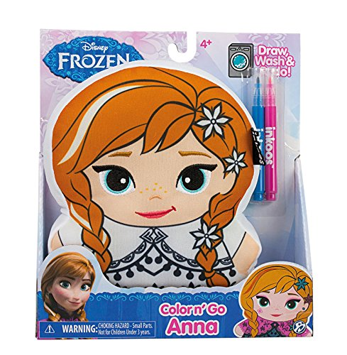 Disney Frozen Inkoos Color n Create Anna Drawing Plush