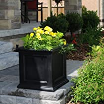 Square Mayne Polyethylene Fairfield Patio Planter