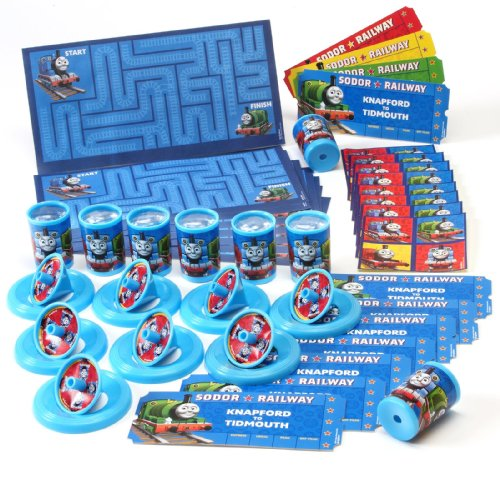 Thomas the Tank Party Favor Value Pack Party Accessory, 48 pcs