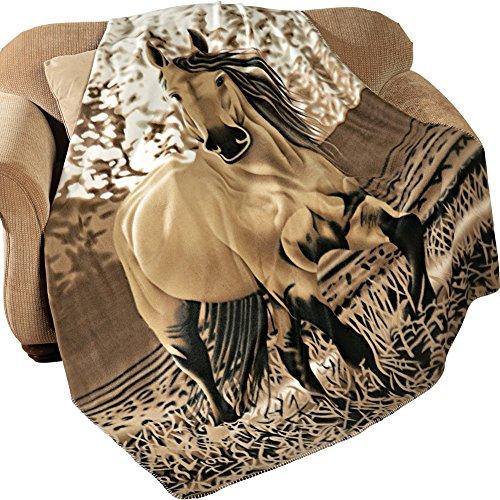 western-horse-soft-fleece-throw-blanket-63x73