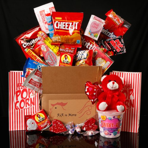 Valentines Day Student Care Package / Food Basket