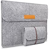 Inateck 13-13.3 Inch Macbook Air/ Pro Retina/ 12.9 Inch iPad Pro Sleeve Case Cover Ultrabook Netbook Laptop Bag, Grey