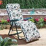 Alfresia Garden Relaxer Chair with Lu...