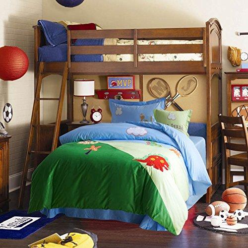 Home Feeling Children Cotton Series Dinosaur Bolster Cover & Sheets & Pillowcases & Quilt Cover