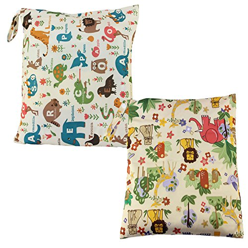 biubee-cloth-diaper-wet-and-dry-bags-baby-waterproof-washable-wet-bag-with-two-zippered-pocketspack-