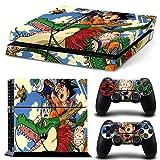 EBTY-Dreams Inc. - Sony Playstation 4 (PS4) - DBZ Dragon Ball Z Anime Son Goku, Bulma, Muten-Roshi, Piccolo, Tenshinhan, Kuririn Vinyl Skin Sticker Decal Protector