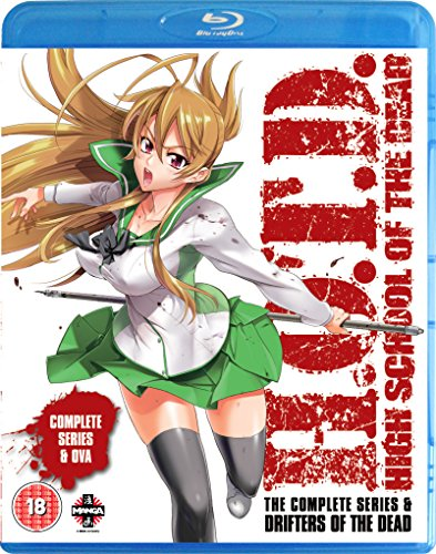 High School of the Dead: Drifters Of The Dead Edition (Series & OVA) Blu-ray