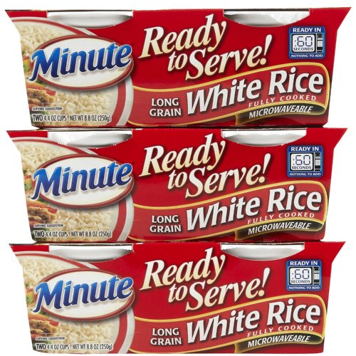 Success Rice Ready To Serve Long Grain White Rice, 4.4 oz, 3 pk (Boil In The Bag Rice compare prices)