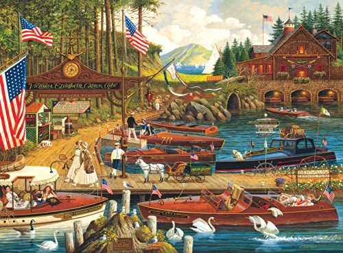 Buffalo Games Charles Wysocki: Lost in the Woodies - 1000 Piece Jigsaw Puzzle by Buffalo Games