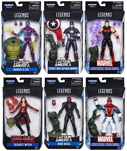 Captain America: Civil War Marvel Legends Wave 3 - Set of 6 with Build A Figure (Abomination Figure compare prices)