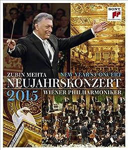 Year's Concert: 2015 - Vienna Philharmonic (Mehta) [Blu-ray] from Sony Classics