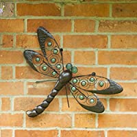 Dragonfly Wall Art - Glow Beads by La Hacienda