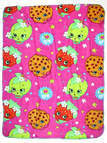 Cheapest Prices! Shopkins Plush Throw