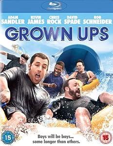 Grown Ups [Blu-ray] [2011] [Region Free]