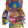 Smiley :) Happy BIRTHDAY Selection Box of Tasty sweets plus Smiley :) 'It's my birthday!' sticker