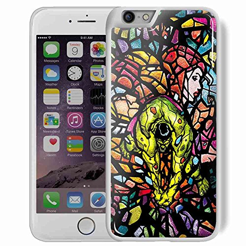 hulk avenger marvel stained glass for iPhone 6 Plus/6s Plus White Case