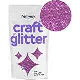 Hemway Craft Glitter 100g 3.5oz FINE 1/64