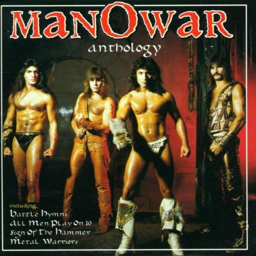 Original album cover of Anthology by Manowar