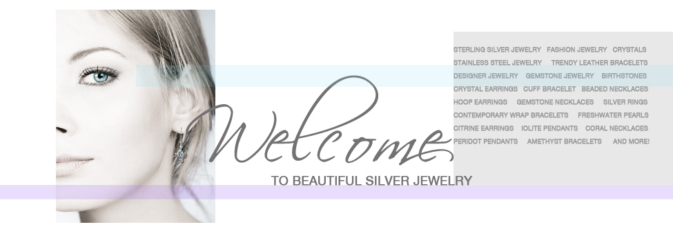 Sterling silver gemstone jewelry and fashion jewelry