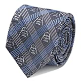 Star Wars Darth Vader Blue Plaid Tie