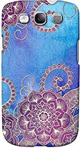DailyObjects Purple Florals Case For Samsung Galaxy S3