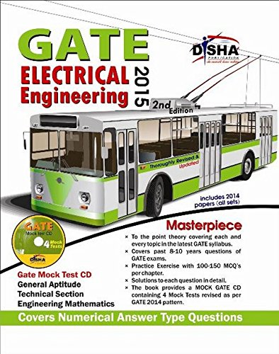 GATE Electrical Engineering Masterpiece 2015 with 4 Mock Test CD