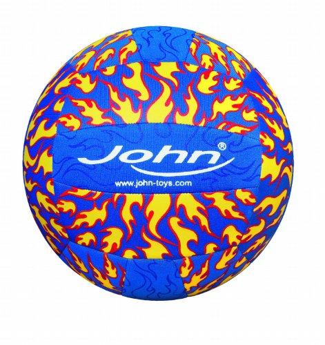 John Volleyball Neopren Fire, sortiert, 23 cm Durchmesser, 300 g, Größe 5