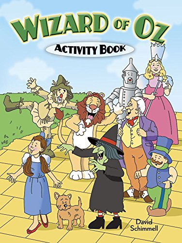 Wizard of Oz Activity Book (Dover Children's Activity Books)