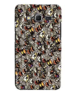 Omnam Stylish Ant Pattern Crystal Printed Designer Back Cover Case For Samsung Galaxy Core Prime