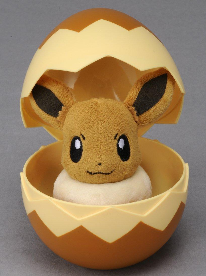 卵に入ったイーブイ