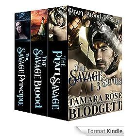The Savage Series: Box Set (Pearl, Blood and Principle) (Dark Post-Apocalyptic Romance) (English Edition)