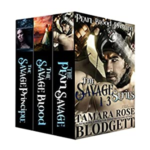 The Savage Series: Box Set (Pearl, Blood and Principle) (Dark Post-Apocalyptic Romance)