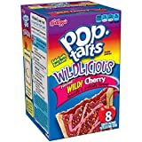 Kellogg's Pop Tarts NEW Wildlicious Frosted Wild! Cherry 8 Count