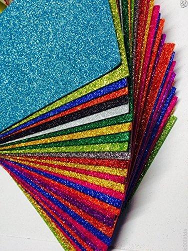 12-x-a4-hojas-de-goma-eva-con-purpurina-elija-tu-colores-muchos-colores-a-elegir-rapido-y-gastos-de-