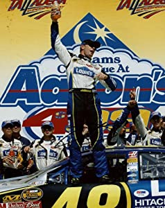 JIMMIE JOHNSON NASCAR SIGNED AUTHENTIC 11X14 PHOTO AUTOGRAPHED CERTIFICATE OF... by Press Pass Collectibles