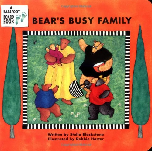 Bear'S Busy Family (A Barefoot Board Book) front-443972