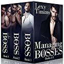 Managing the Bosses Box Set #1-3: Billionaire Romance Audiobook by Lexy Timms Narrated by Hannah Pralle