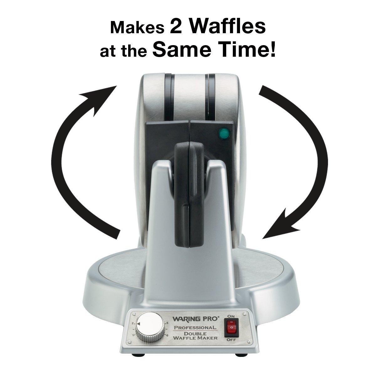Waring Pro WMK600 Double Belgian Waffle Maker Review