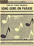 img - for Song Gems On Parade book / textbook / text book