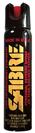 SABRE Pepper Spray - Advanced 3-In-1 Police Strength - Large Magnum Tactical Spray