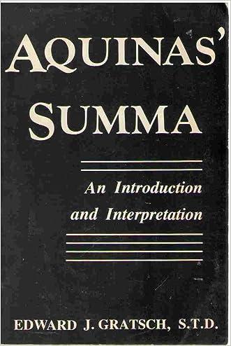 Aquinas' Summa