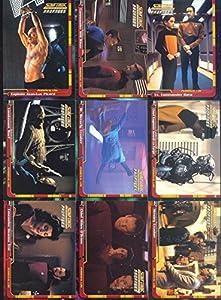 Star Trek The Next Generation Tng Profiles 2000 Skybox Base Card Set Of 82