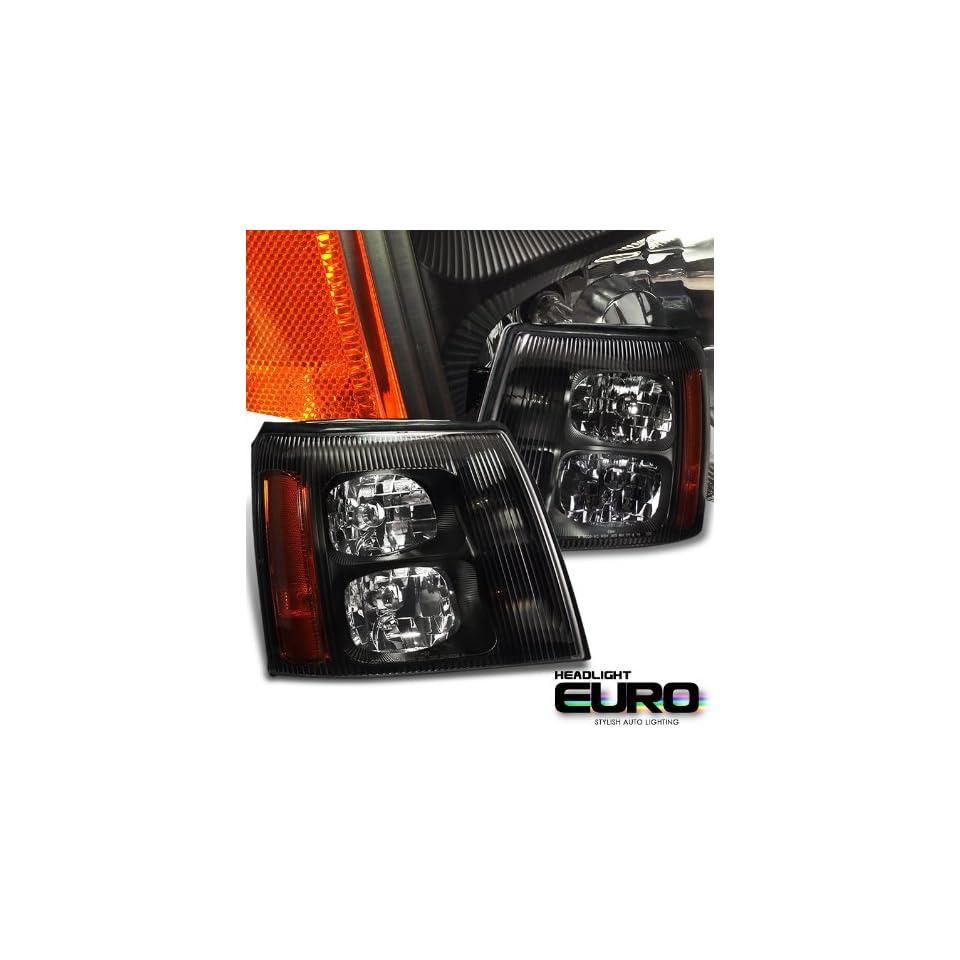 Cadillac 2002 2006 Cadillac Escalade Suv Black W/O Hid Type Headlight Performance