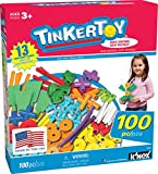 TINKERTOY - 100 Piece Essentials Value Set -  Ages 3+ Preschool Education Toy
