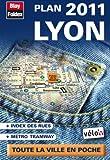 echange, troc Blay-Foldex - Lyon, plan de poche 2011 - Avec localisation des stations Vélo'v