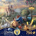 Thomas Kinkade The Disney Dreams Collection: Beauty and The Beast Falling in Love Puzzle by Ceaco
