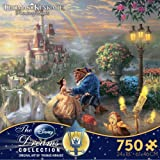 Thomas Kinkade The Disney Dreams Collection: Beauty and The Beast Falling in Love Puzzle