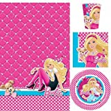 Barbie Party Tableware Pack for 8