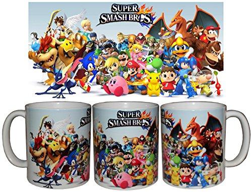 Tazza in Porcellana Super Smash Bros