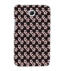 EPICCASE funky flowers Mobile Back Case Cover For Lenovo S880 (Designer Case)